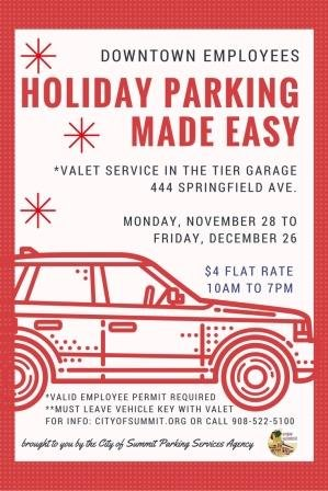 Holiday Parking Made Easy
